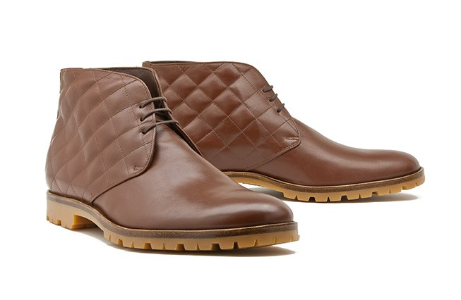 Chukka Boot / quilted